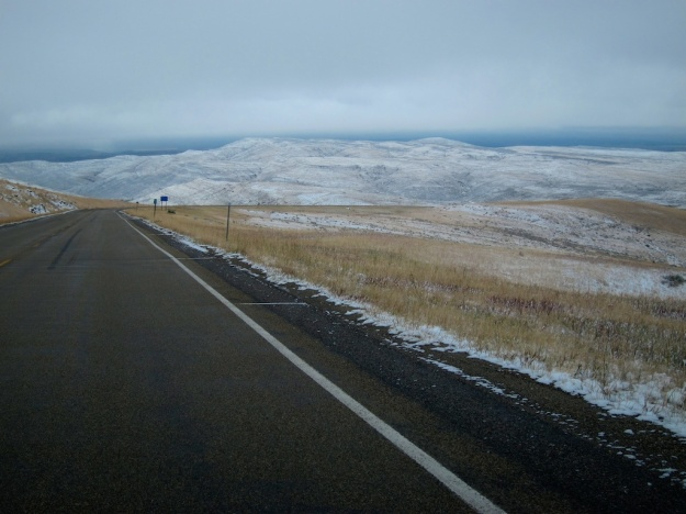 Beautifully bleak landscape of northern Wyoming
