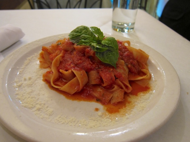 Fresh, simple extruded pasta at Il Pastaio, Boulder