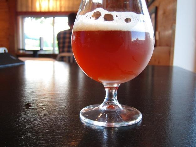 Saison-style Belgian beer at Funkwerks