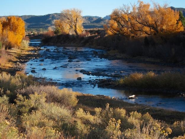 Lovely Arkansas River near Buena Vista, Colorado
