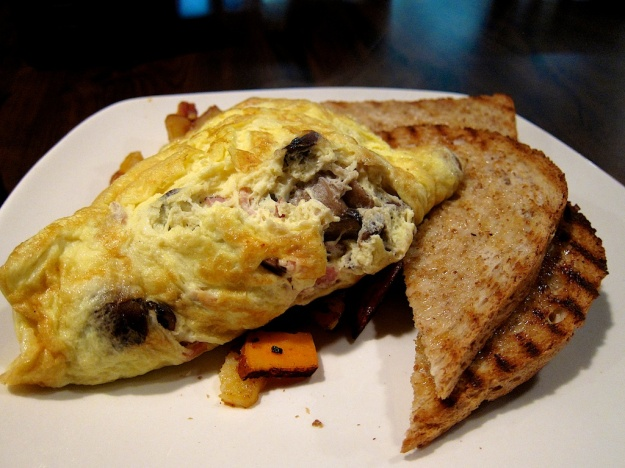 An outstanding omelette at Creekers in Bragg Creek