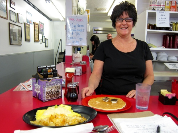 The good news: Great homestyle breakfast at Bert's  Cafe in Brigham City