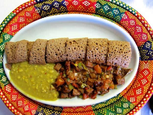 Finger-licking, fabulous food at Uchenna Ethiopian Restaurant