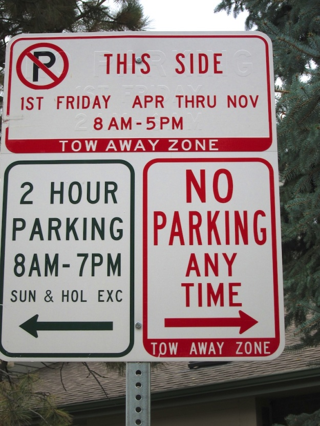 These Denver parking signs are too much for my small brain to comprehend
