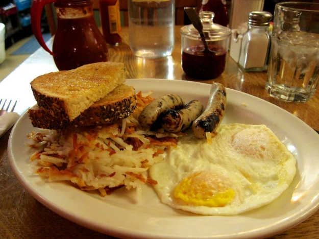 First-class breakfast at Village Smithy Restaurant in Carbondale