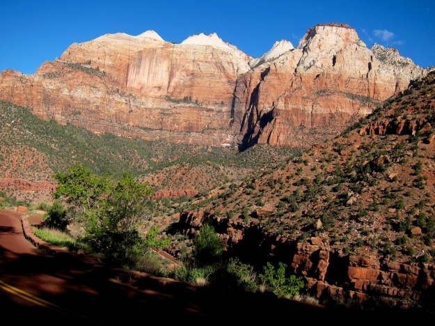 The big walls beckon in Zion National Park in southwest Utah
