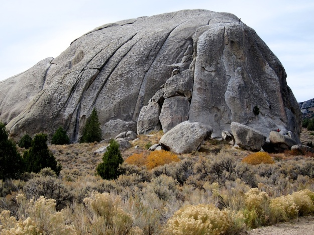 Great granite in City of Rocks, Idaho
