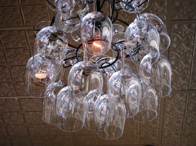 Creative chandeliers  at 626 on Rood in Grand Junction, Colorado