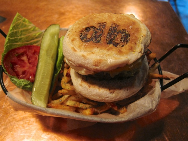 At Diablo Burger, it's not just the cattle that are branded