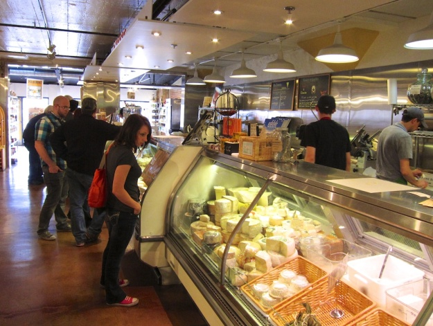 Check out the cheeses, meats and great sandwiches at Tony Caputo's Market & Deli in Salt Lake City