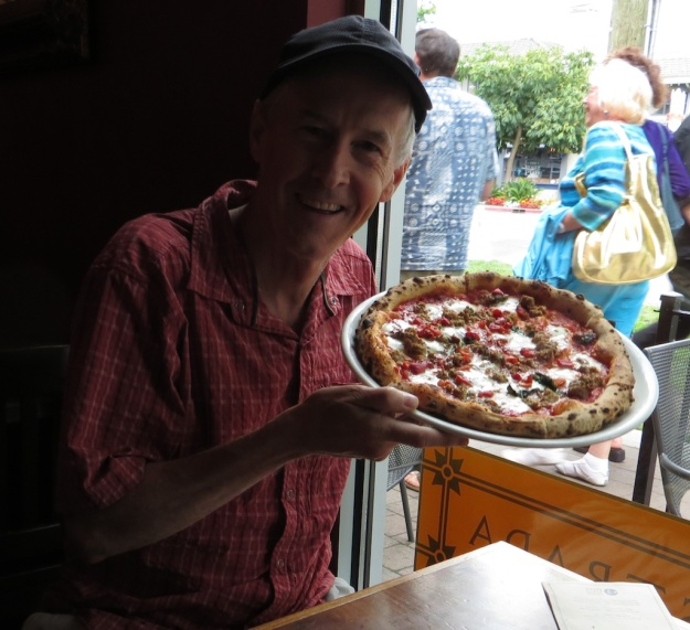 Can I get this entire pizza, from Pizzeria Prima Strada in Victoria B.C., in my gut? You bet
