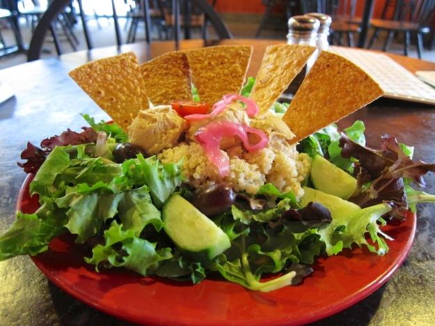 Nice salad at Bonelli's Bistro in Kalispell