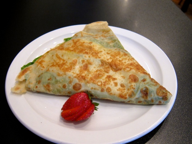 The crepes are indeed awesome at Amazing Crepes in Whitefish