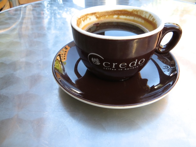 Credo is a fine downtown spot for a java and thin, crisp cookie