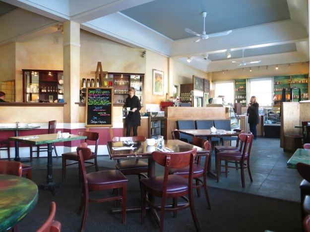 The Upper Crust Cafe is a great space for good, affordable dining