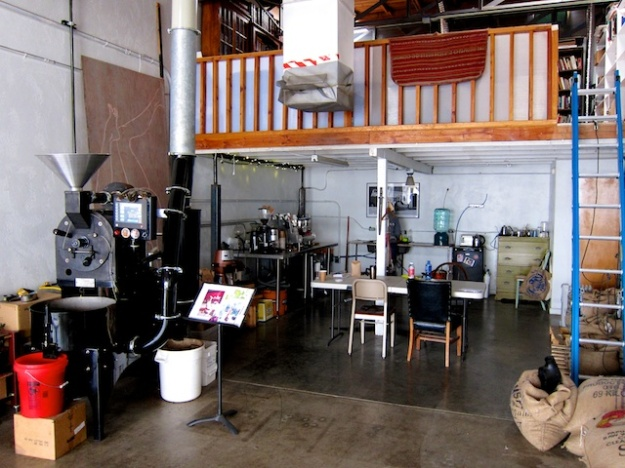 Cafe Aqui is a spartan space focused on only one thing: excellent coffee