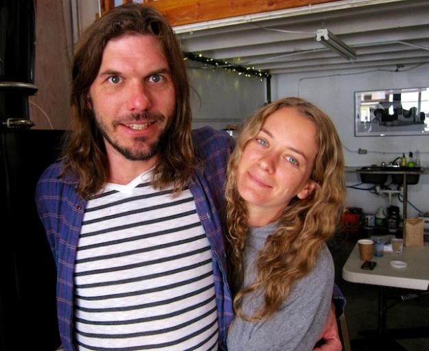 Sarah and Oliver run Cafe Aqui in Tucson