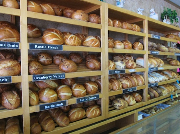 Choose a loaf, or two, or three at La Baguette Parisienne