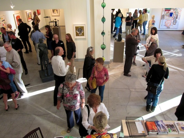 What's a visit to Santa Fe without a gallery opening?