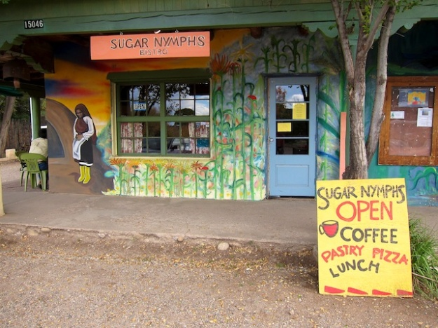 Sugar Nymphs Bistro is a quirky spot with fabulous food in tiny Penasco, New Mexico