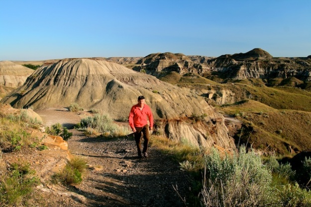 Dinosaur Provincial Park, near Brooks, Alberta, is a UNESCO World Heritage Site