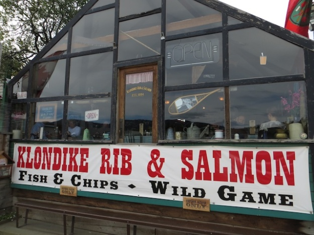 The Klondike Rib & Salmon building dates back to  around 1900