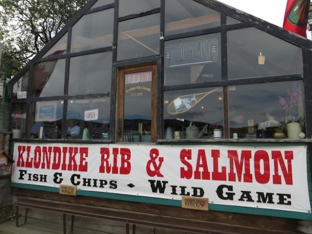The Klondike Rib & Salmon building dates back to  around 1900