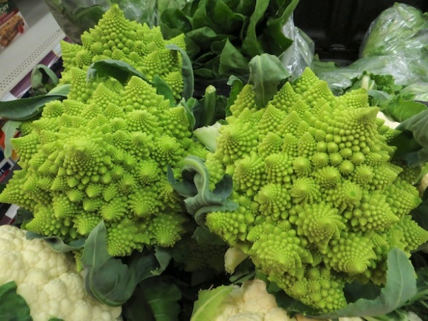 Would you believe this romanesco veggie grows at 64 degrees latitude?