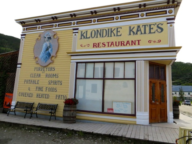 Klondike Kate's serves up fabulous food, with a local theme, in Dawson City