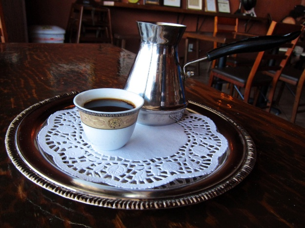 Not many espressos pack the punch of this Turkish coffee