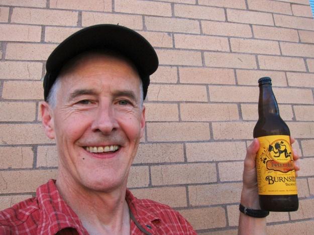 I score a big bottle of Burnside's Sweet Heat Ale
