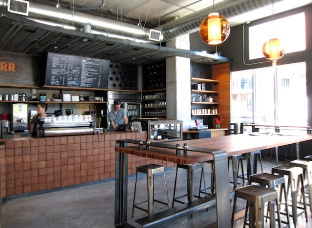 Minimalism is in at Ristretto Roasters in Portland