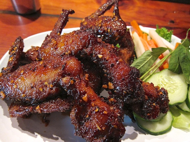 Fantastic, monster chicken wings with an Asian twist at Pok Pok