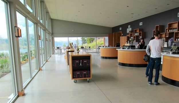 But you can't beat the ambience of a tasting room in a beautiful wine-producing area like Poplar Grove's spiffy new place in B.C.'s Okanagan Valley