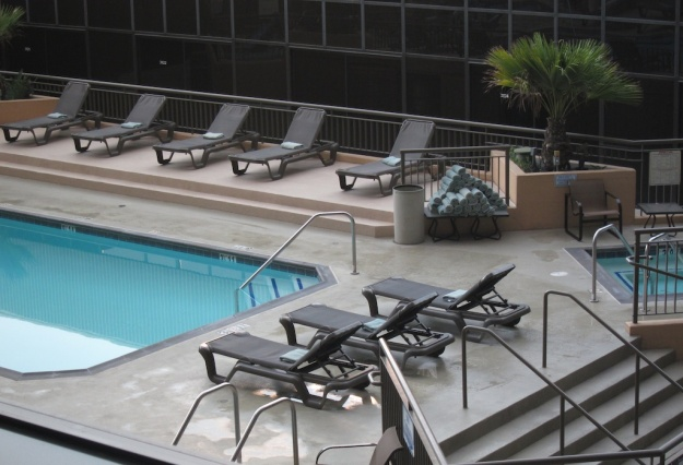 Using Hotwire, I got a heck of a deal at the swanky Hilton near the Los Angeles international airport