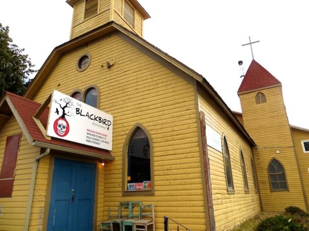Service is not just on Sundays at The Blackbird Restaurant