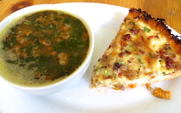 Quiche and hearty soup feed the country soul at Corner House Cafe in Millarville, Alberta