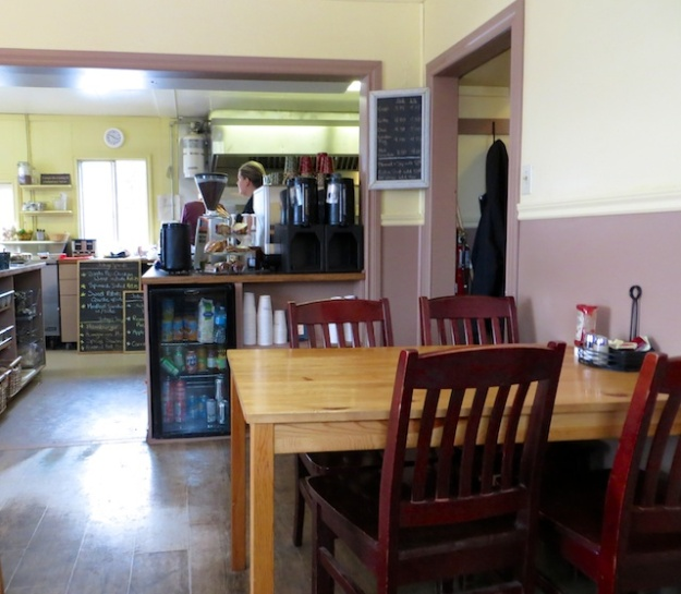 Sitting in the Corner House Cafe is like being in a farm kitchen