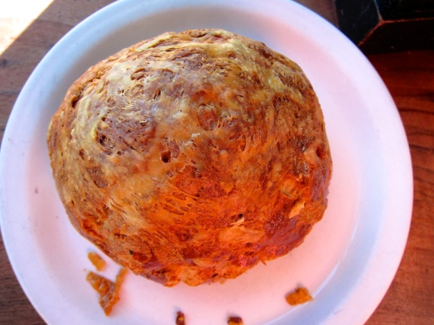 Gorgeously gooey gougere at Tartine Bakery & Cafe in San Francisco