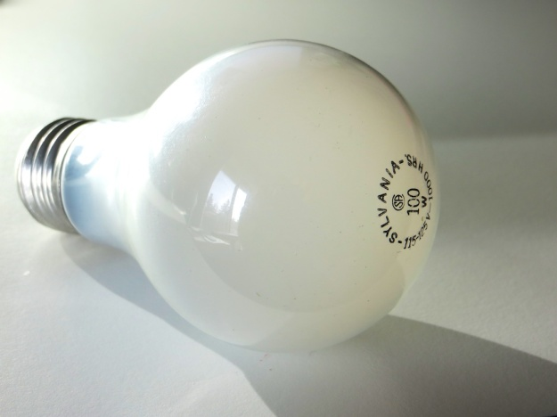 Converting some 90 per cent of its energy to heat, the old-fashioned incandescent bulb is just a mini space heater