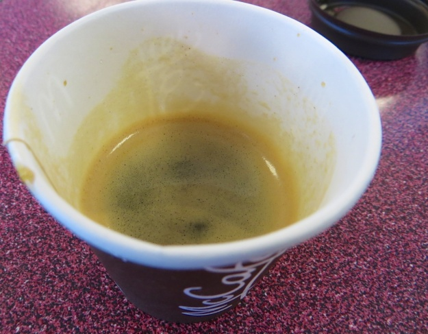 I must admit, the $1.29 espresso at McDonald's was better than I expected