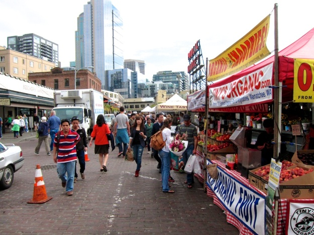 Sure it's overcrowded. But there's no market quite like the one in Pike Place