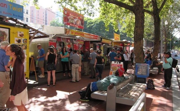 The incredibly rich food-cart scene pushes Portland to the top of my west-coast food list