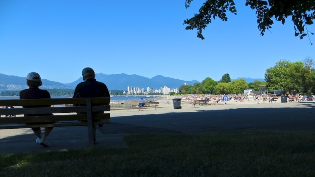 The beach, the ocean, the mountains. You just can't beat Vancouver on a sunny day