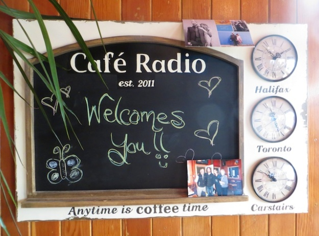 At Cafe Radio, Carstairs is rightly in the centre of the Canadian universe