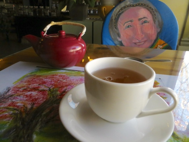 A fine selection of teas, and Korean cuisine, at Mimi's Teahouse & Cafe in Enderby