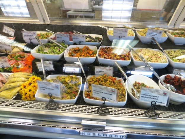 A wealth of healthy salads at Nature's Fare Markets in Vernon, B.C.