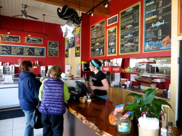 The Nomad co-owner Deanna adds an upbeat, friendly vibe to some good food