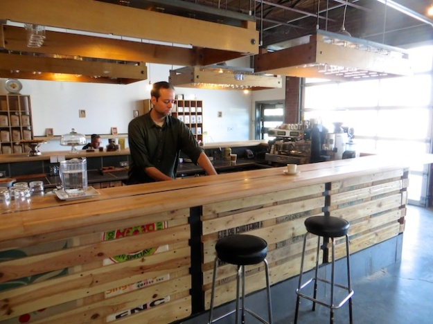 Ryan Arcand runs the most laid-back, excellent coffeehouse you'll find at Iconoclast in Edmonton
