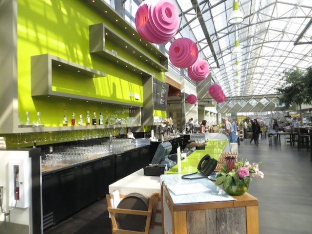 The Enjoy Centre in St. Albert is a light-infused mix of plant and food